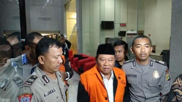 Bupati Sidoarjo Saiful Ilah mengaku, tidak bersalah (foto/int)