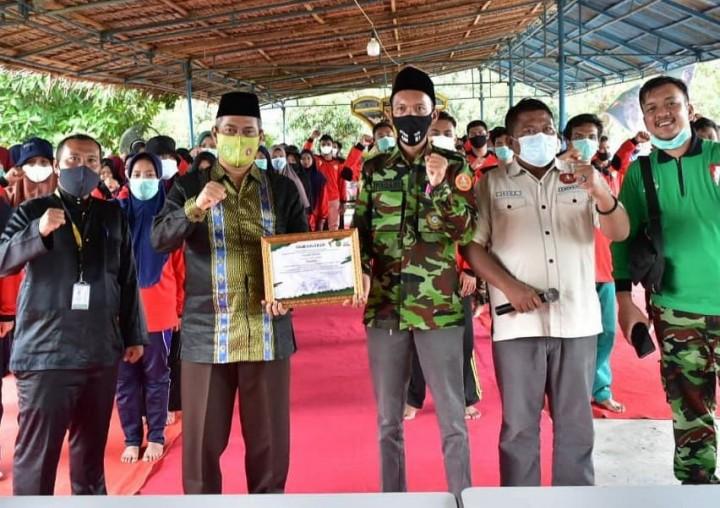 Hamdani menjadi pembicara di acara Diklatsar Kokam Pemuda Muhammadiyah